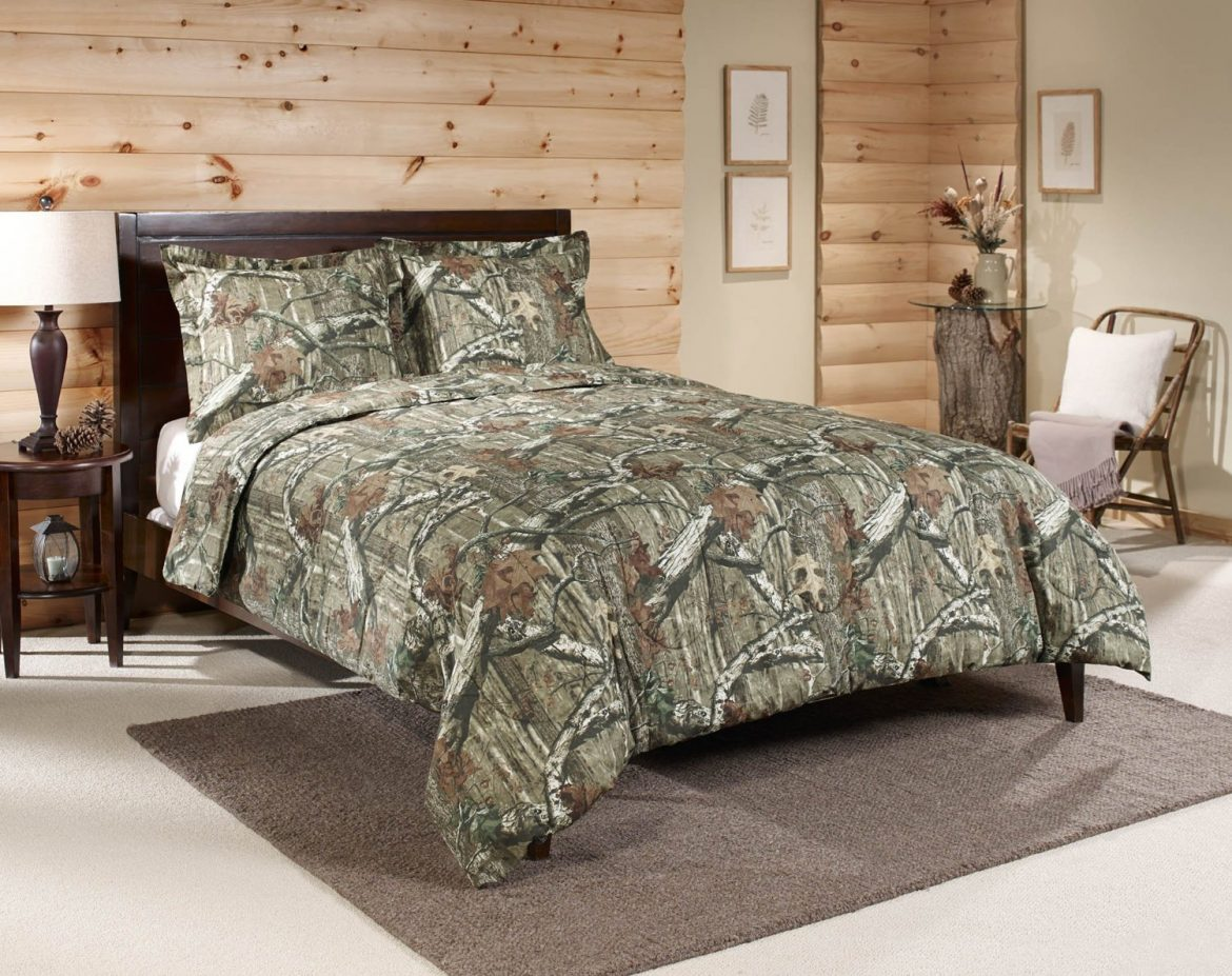Camouflage Bedding For A Taste Of The Outdoors