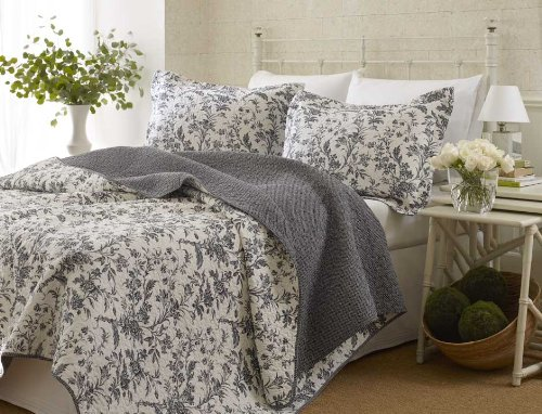 what is toile bedding