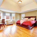 Hardwood Floors in Bedroom Image