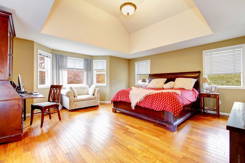 Hardwood Floors in Bedroom Image