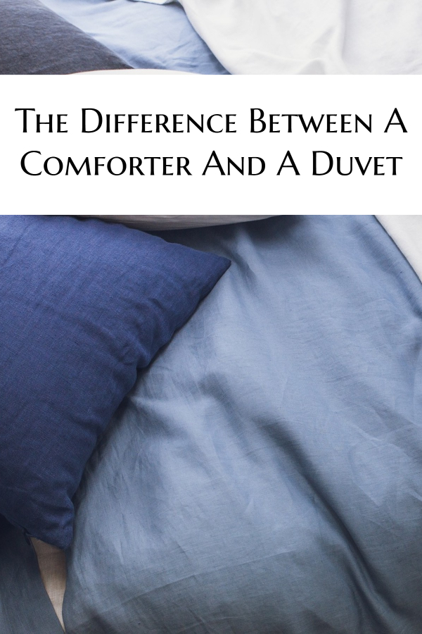 The Difference Between A Comforter And A Duvet
