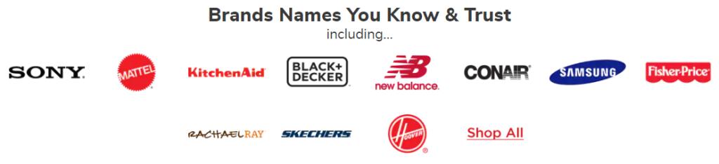 name brands