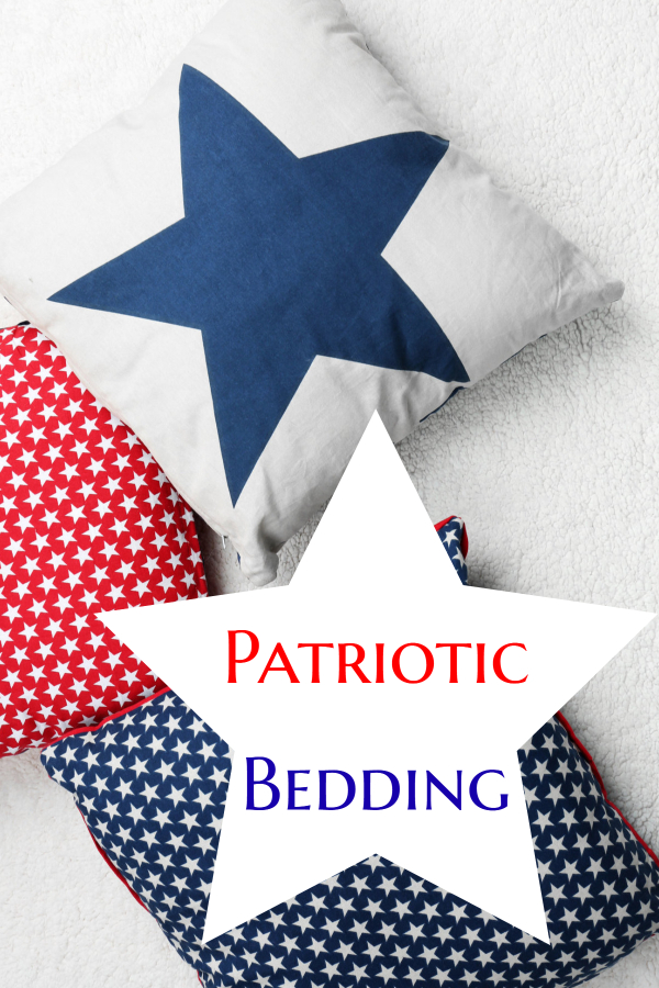 patriotic bedding pillows