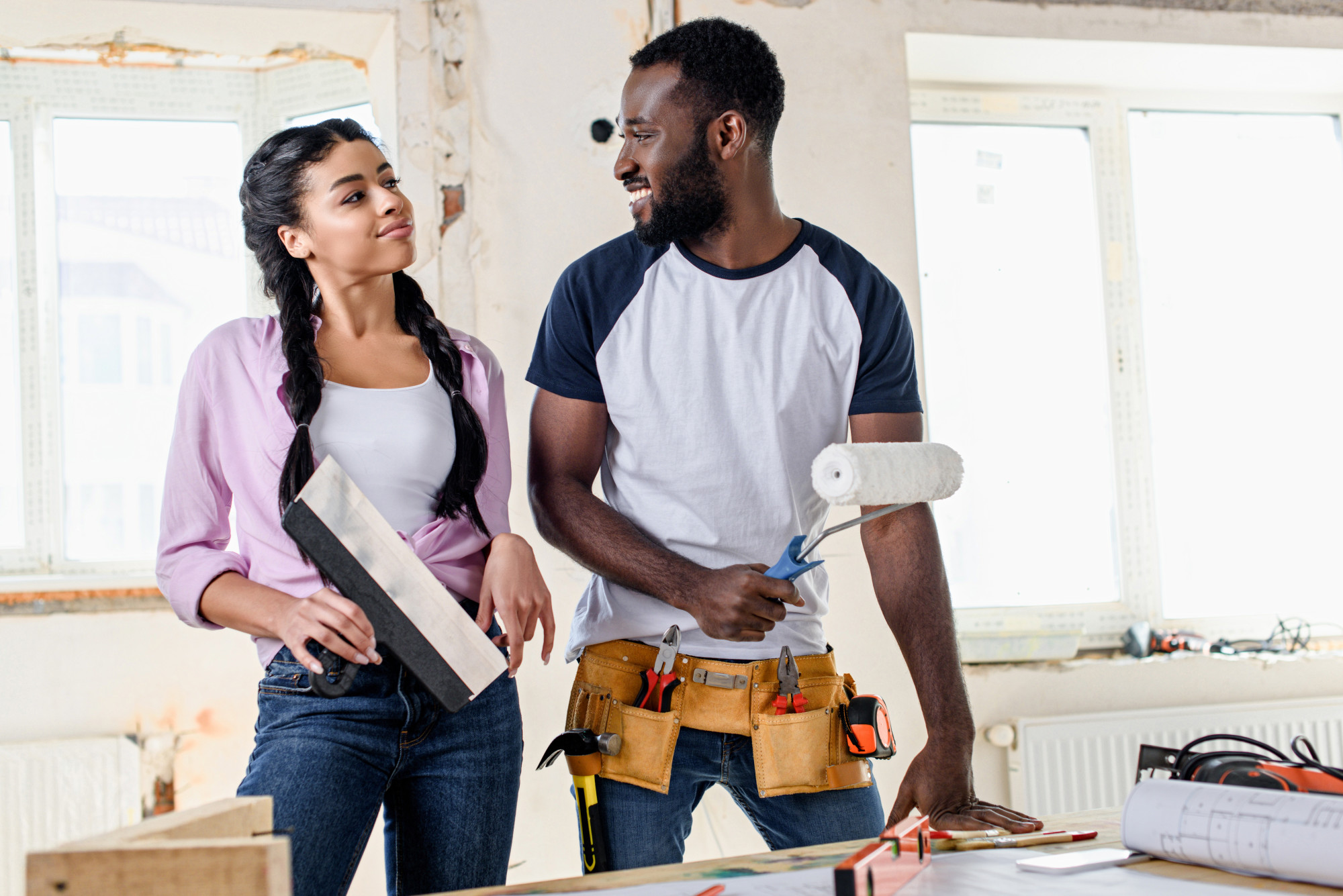 how to renovate a house on a budget