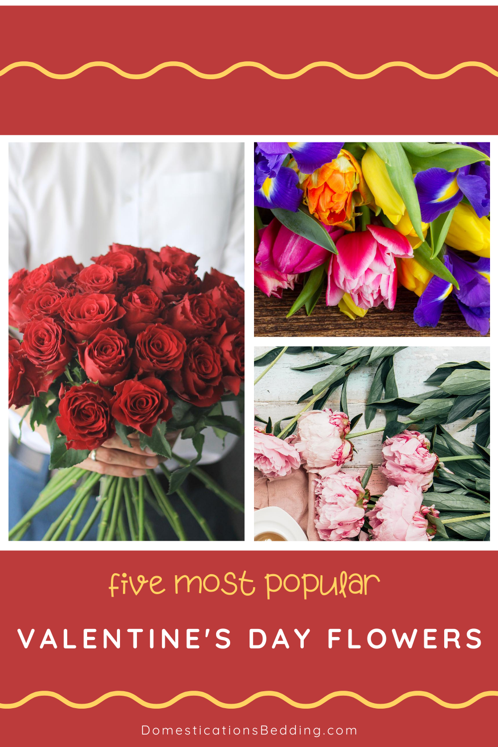 The 5 Most Popular Valentine's Day Flowers