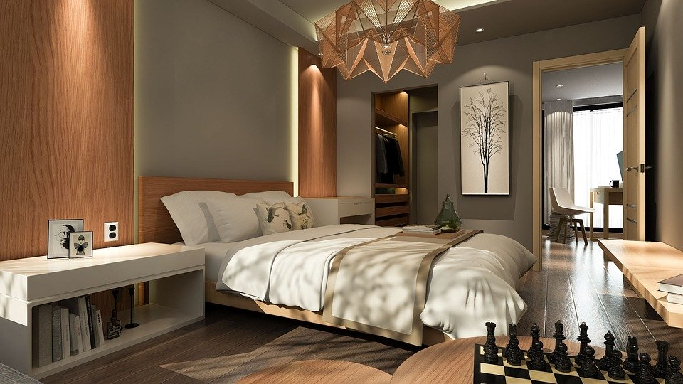 5 Modern Bedroom Lighting Ideas - Domestications Bedding