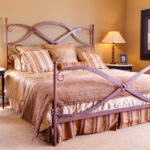 copper bed frame