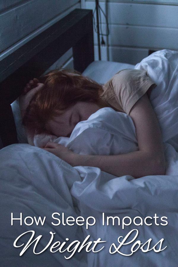 how sleep impacts weight loss