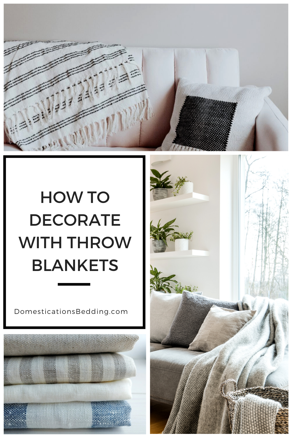 How To Choose A Throw Blanket For Living Room