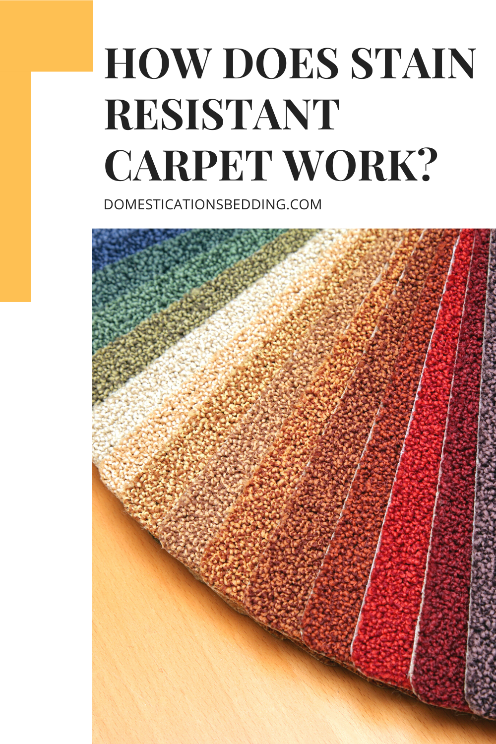 Stain Resistant Carpet Work