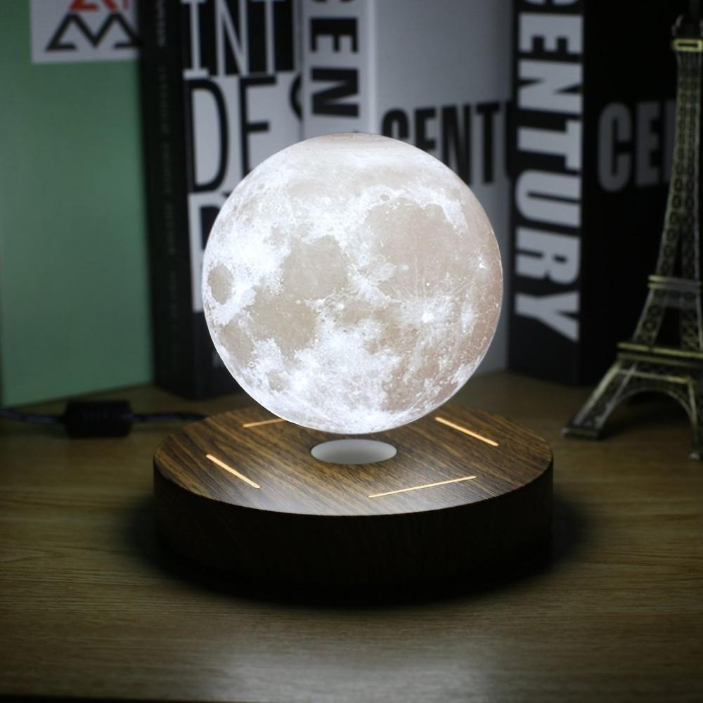 Levitating lamp for bedroom