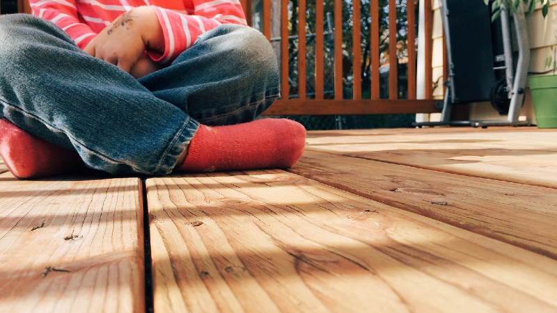 Clean Composite Decking