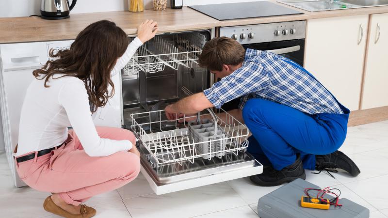 dishwasher drain clog