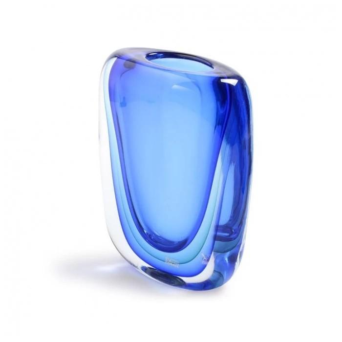 yourmurano.com blue round vase
